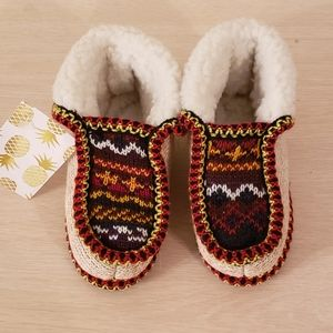 Knit Slippers size 28/29